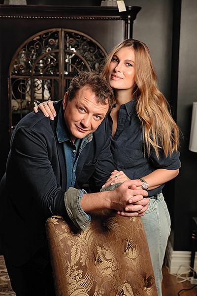 Актер был женат на Елизавете Шевырковой меньше двух лет