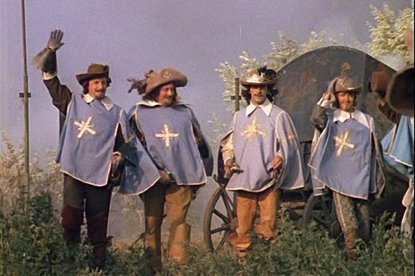 Кадр мини-сериала «Д`Артаньян и три мушкетера». Режиссер Георгий Юнгвальд-Хилькевич, 1979 год