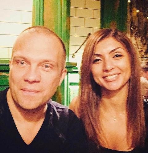 DJ Грув с женой Денизой