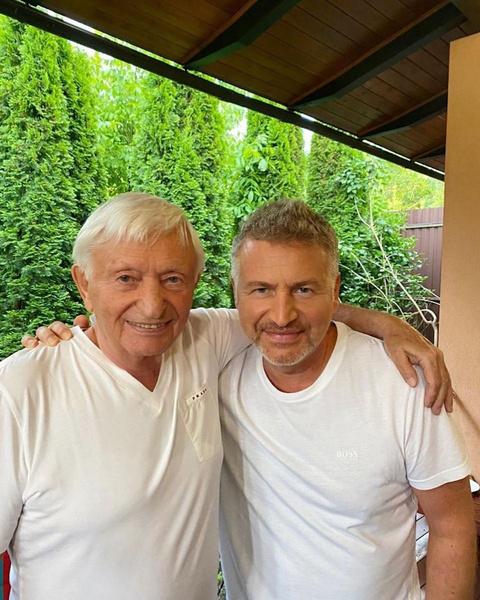 Николай и Леонид Агутины
