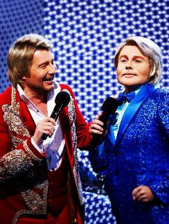 Николай Басков и Дмитрий Бикбаев