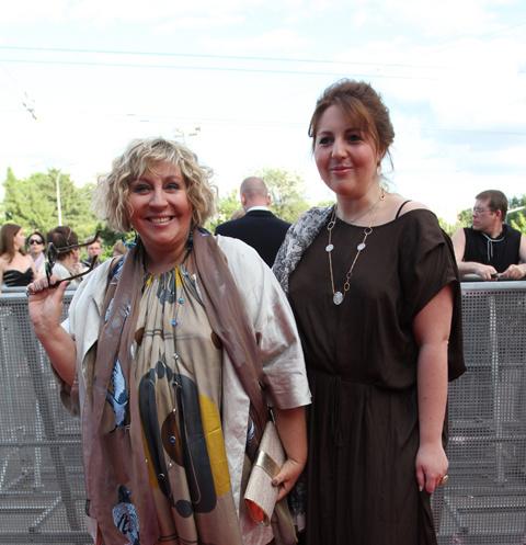 Марина Голуб и ее дочь Анастасия