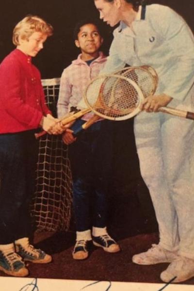 Любовь к теннису передалась Елене по наследству от матери