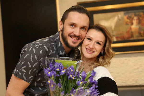 Счастливые родители крестили дочь Анжелику