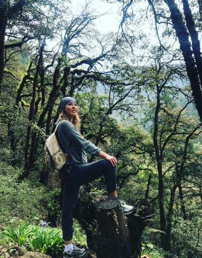 Ксения Собчак проводит отпуск в Азии