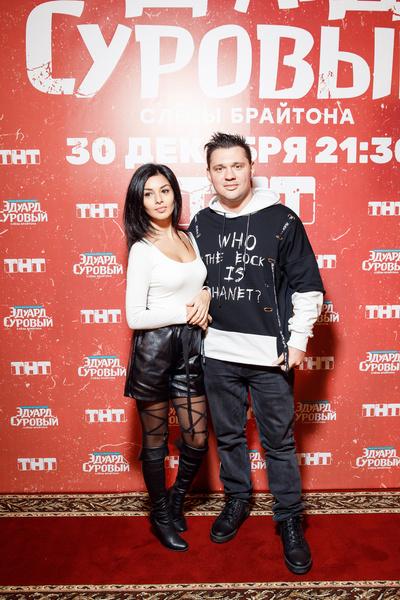 Алексей Кабанов с женой