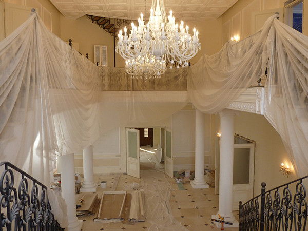 Ремонт в новом   доме Волочковой   длился несколько   месяцев