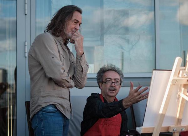 Никас Сафронов принял врачей в шикарной квартире за 70 миллионов долларов — фото