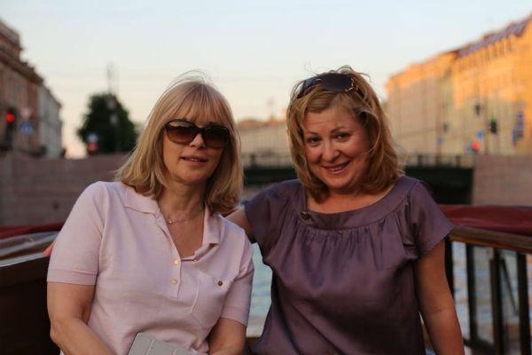 Вера Глаголева и Ольга Погодина-Кузьмина вместе работали над созданием нескольких лент