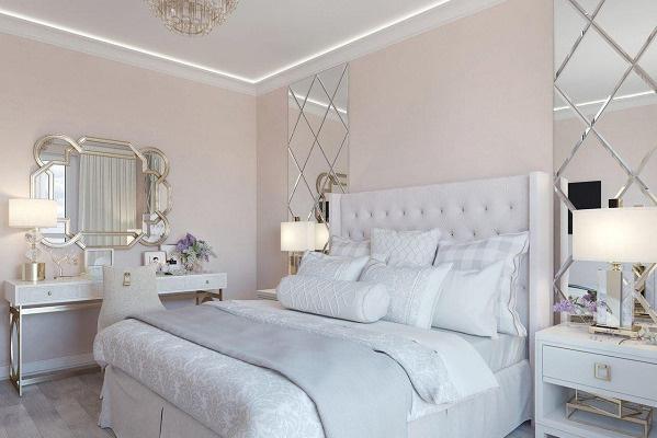 Так будет выглядеть спальня в новой квартире Эллы