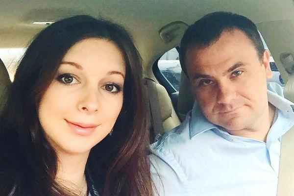 Юлиана Подольская с мужем
