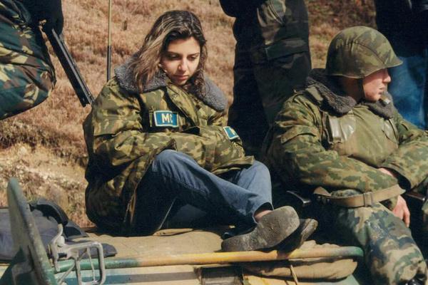 Маргарита Симоньян не боялась командировок в горячие точки