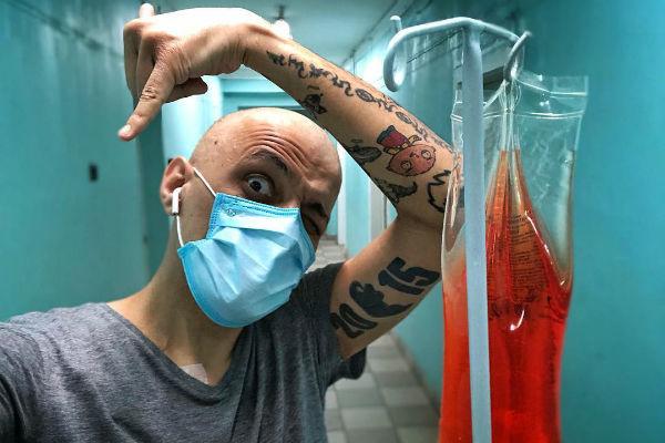 Эд Мацаберидзе проходит курс химиотерапии