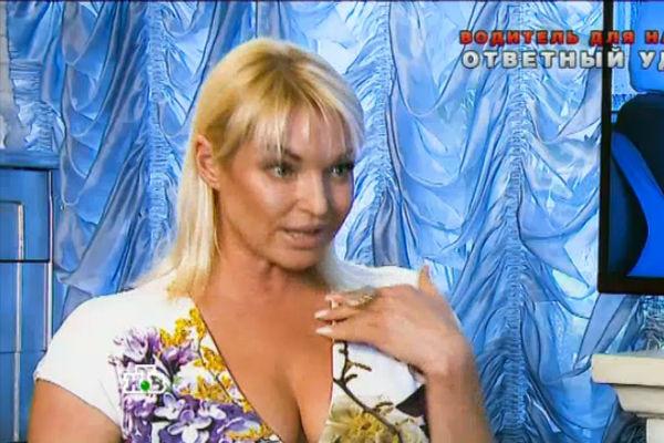Анастасия Волочкова отрицает обвинения в свой адрес