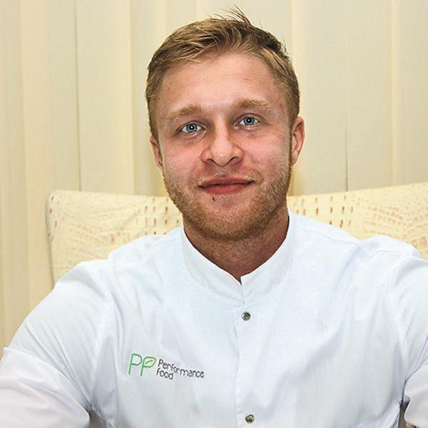 Врач-диетолог компании Performance Food Мирон Андреевич Ругин