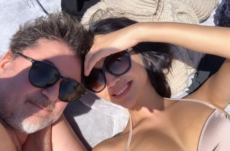 Александр Цекало и Дарина Эрвин на отдыхе