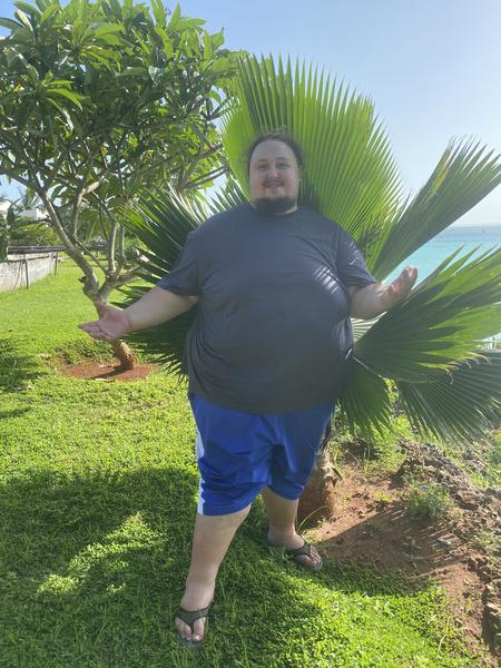 ...и, конечно же, с пальмами должно быть не одно фото