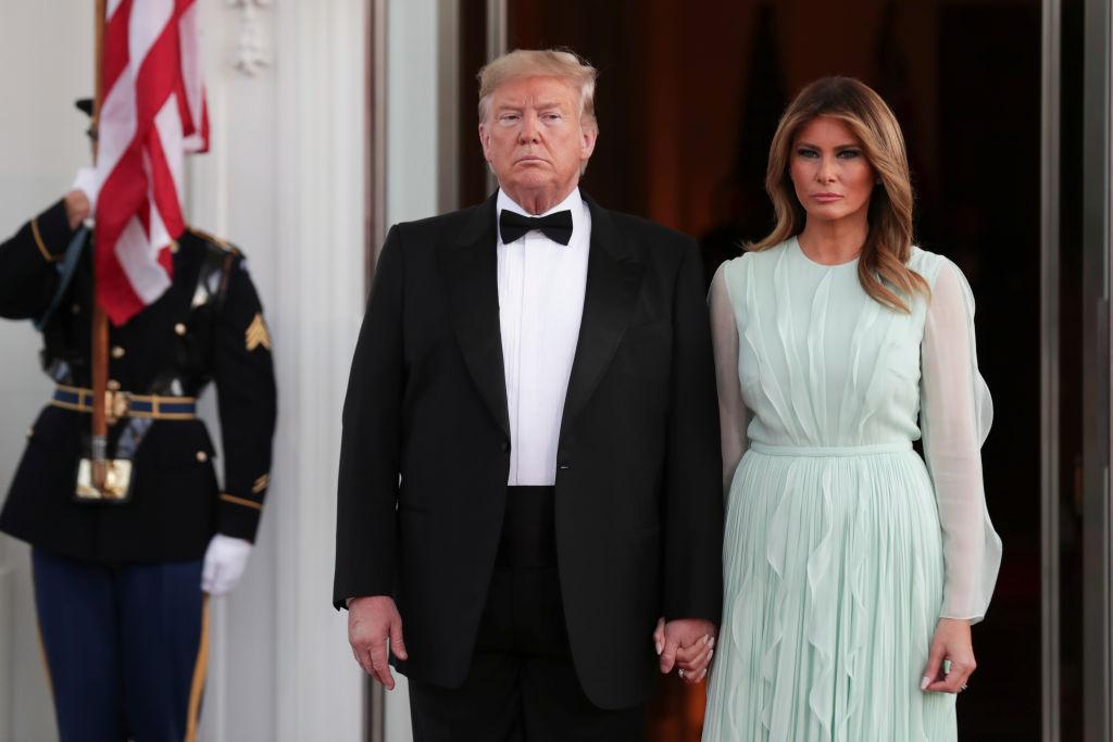 Фотографии жены трампа за последние дни