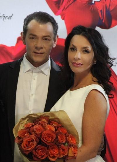 Вадим Казаченко с нынешней супругой Ириной Аманти