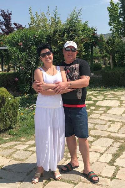 Голунова и ее избранник проводят медовый месяц