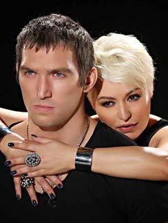 Катя Лель и Александр Овечкин играли влюбленную пару