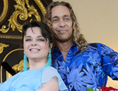 Наташа Королева и Тарзан устроили праздник любви в Майами