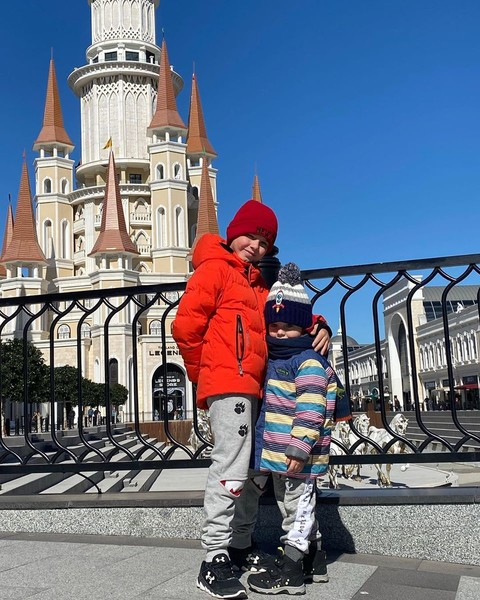 У Даши и Сергея растут два сына
