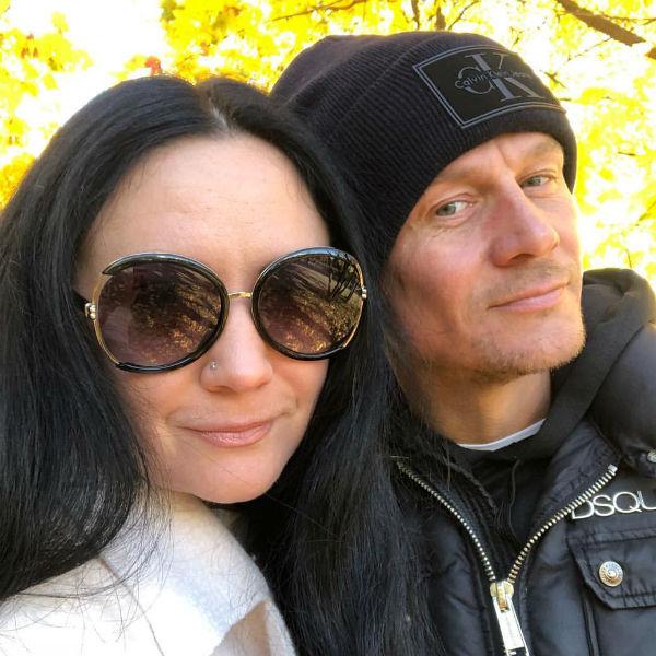 Гарик Богомазов со второй женой, Викторией
