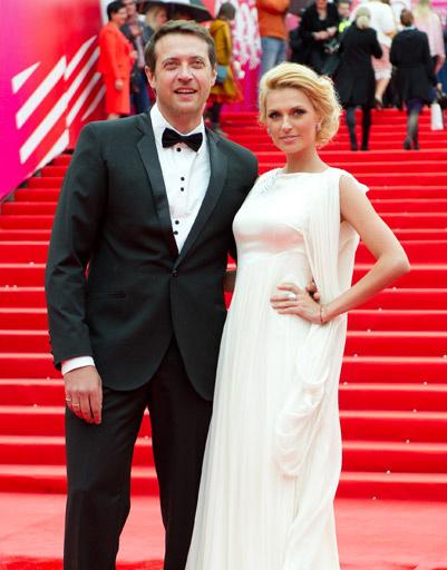 Александра Савельева с мужем Кириллом Сафоновым