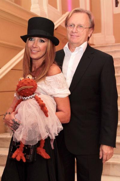 Ника Белоцерковская с мужем