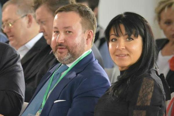 Председатель совета города Тимербулат Каримов и президент Дачного фестиваля имени Шаляпина Инга Каримова