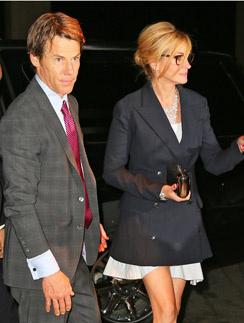 Джулия Робертс и Дэнни Модер на прошлой неделе в Нью-Йорке