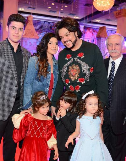 Филипп Киркоров помог Жасмин организовать праздник для ее дочери