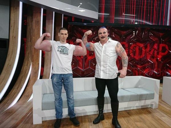 В эфире передачи Кирилл познакомился с Александром Шпаком