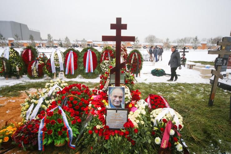 Могила Гафта на Троекуровском