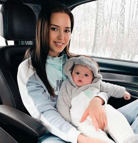 Анастасия Костенко с Миланой