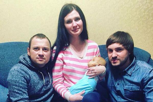Семья Прохоровых с Андреем Гайдуляном