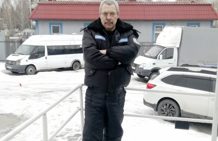 Сергей Кузнецов из Озерска похудел на 105 килограммов. Сейчас он весит 97