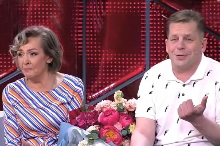 Ирина Акулова с Юрием Миловановым