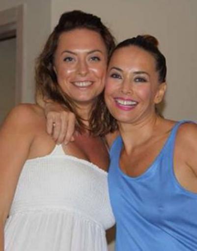 Певица с любимой сестрой