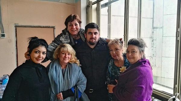 Наталья подружилась с Бесланом Терекбаевым, исполнившим роль чеченского главаря