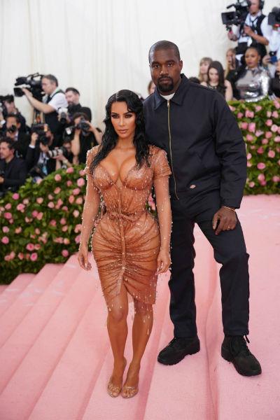 Ким и Канье начали встречаться еще в 2012 году