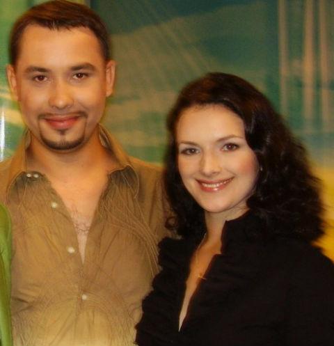 Антон Федотов и Наталья Юнникова