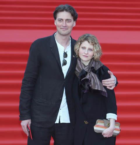 Иван Колесников с женой Линой