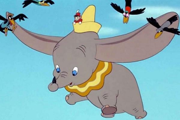 Культовый летающий слоненок Уолта Диснея