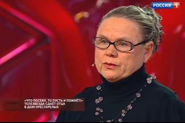 Мама Степана Меньщикова