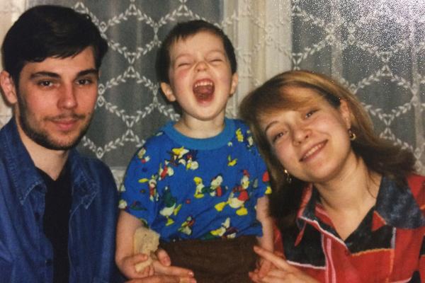 Егор Клинаев рос в семье музыкантов
