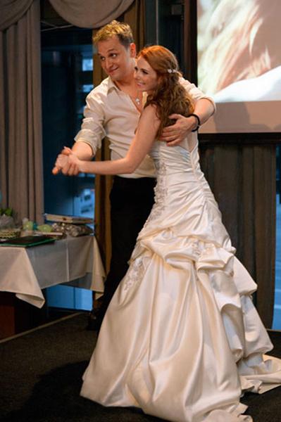 Свадьбу пара отпраздновала дважды