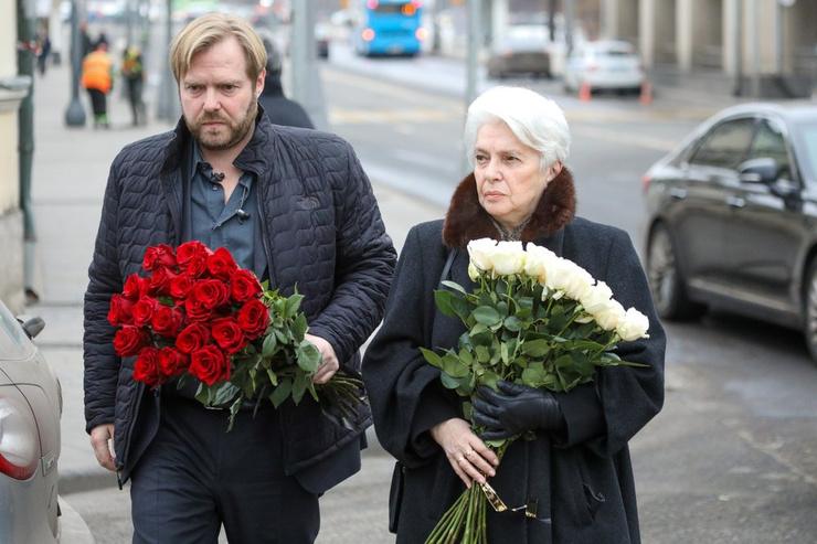 Наталия Солженицына и Ермолай Солженицын