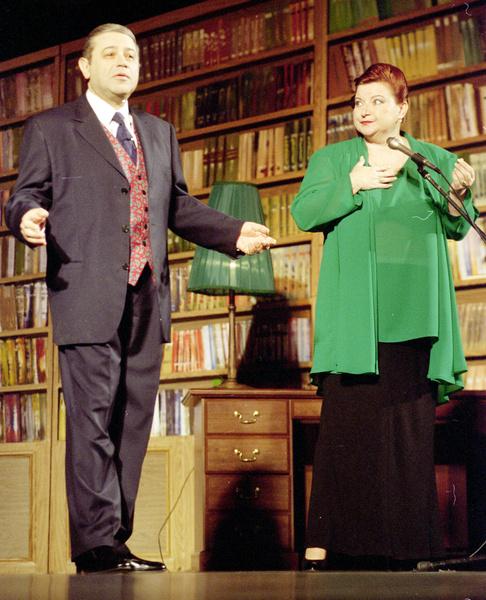 Супруги много лет выступали вместе